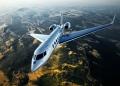 Jet privado. Viajes de negocios en modernos aviones de lujo