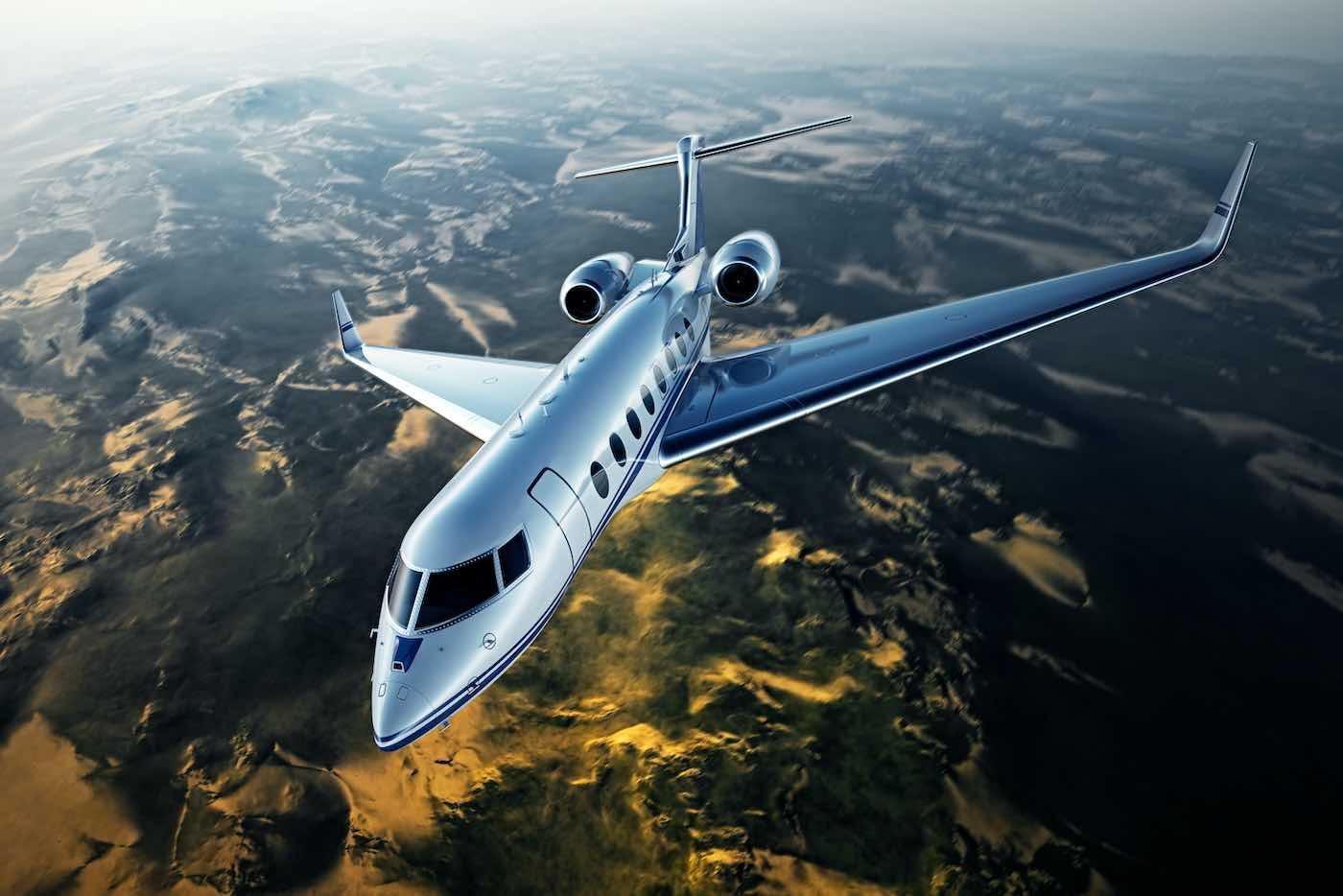 Los jets privados de mayor alcance del mundo en 2021.