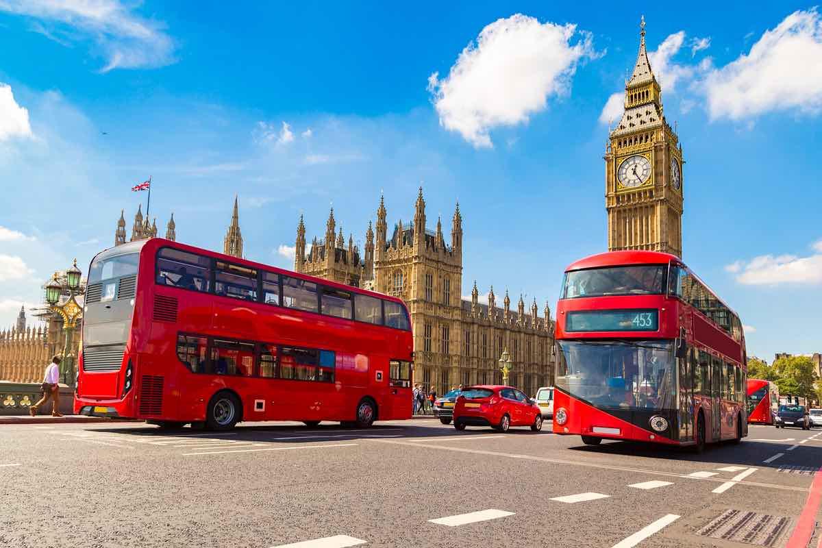 Big Ben en Londres, Inglaterra.