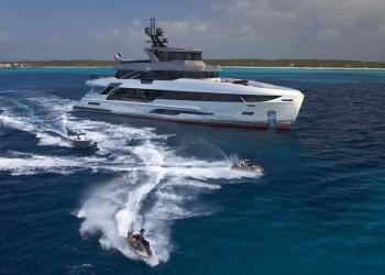 Bering Yachts pone la quilla del superyate B107 de 33 metros