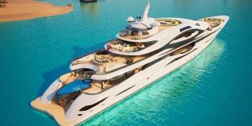 El nuevo concepto de superyate Emir de la prestigiosa firma Gresham Yacht Design