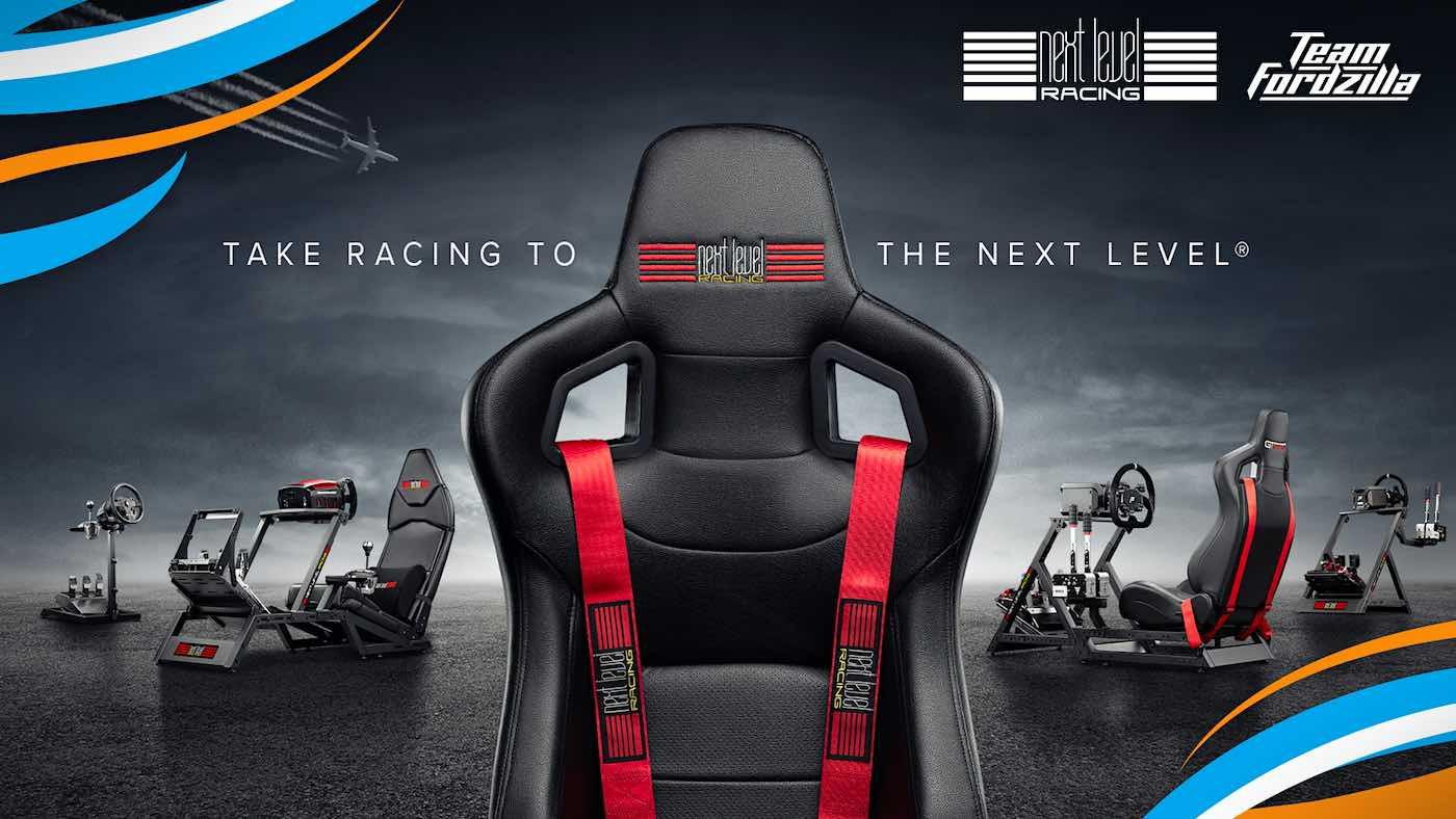 Team Fordzilla se asocia con Next Level Racing para llevar el motorsport virtual al siguiente nivel