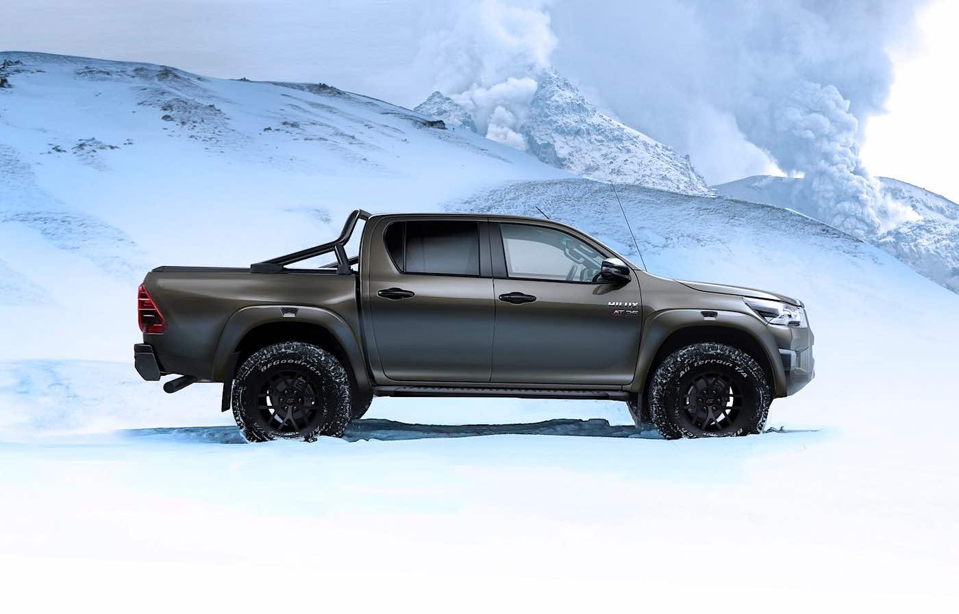 Con la revelación, la firma islandesa ha aplicado nuevas mejoras off-roads a la ya bestial camioneta pickup...