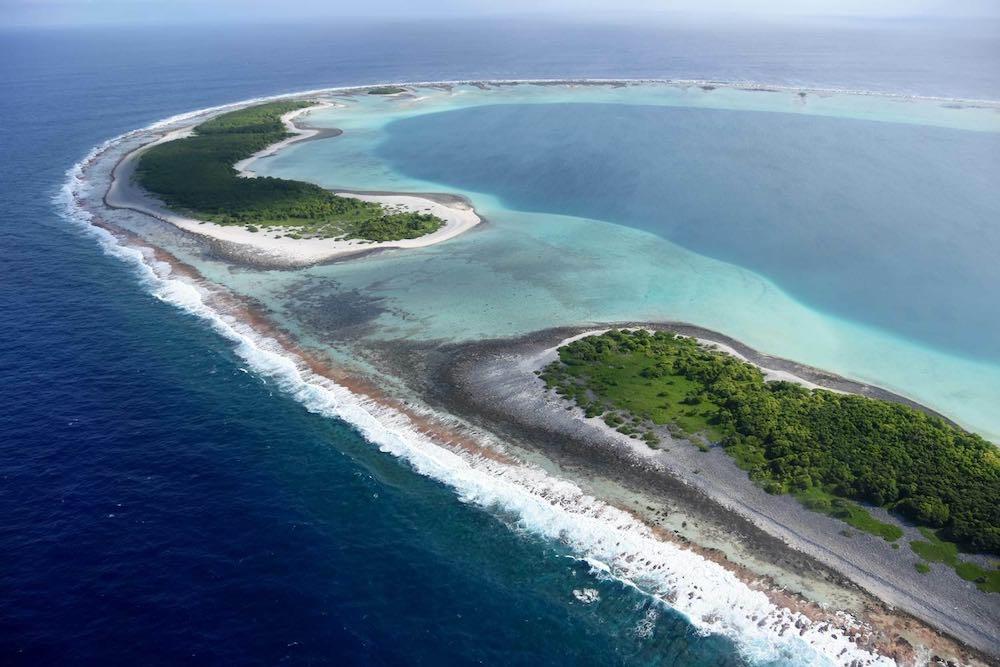 Anuanurunga, un atolón privado en la Polinesia Francesa, ahora está a la venta.