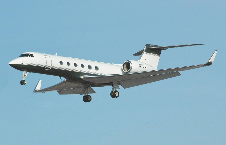 Los aviones privados más caros del mundo: Gulfstream V