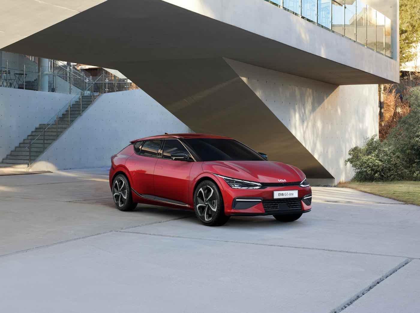 Kia EV6 redefine los límites de la movilidad eléctrica, con un diseño inspirador, un rendimiento estimulante y un espacio innovador