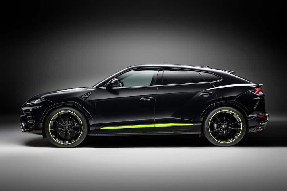 Lamborghini Urus Graphite Capsule: Siéntete libre de babear por él
