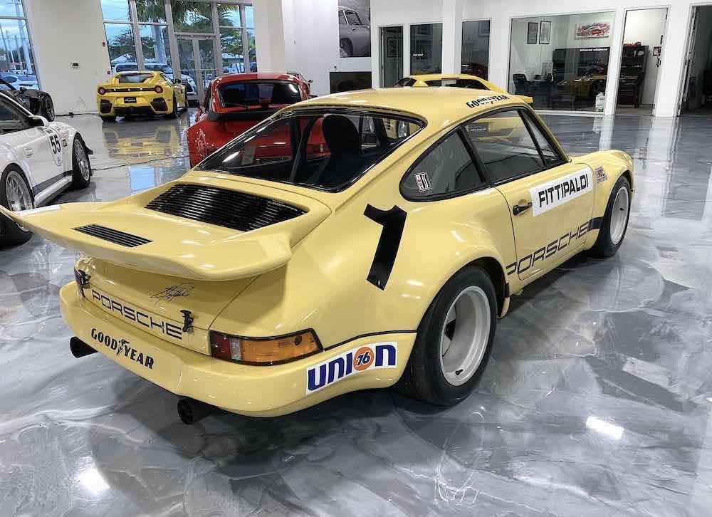El Porsche 911 RSR 1974 de Pablo Escobar está a la venta