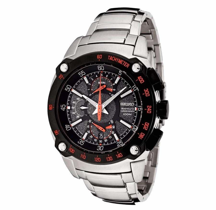 La historia detrás de 10 marcas de relojes de lujo: Reloj Seiko Sportura