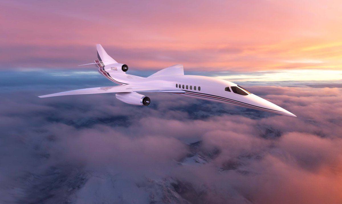 NetJets acaba de comprar 20 aviones supersónicos de lujo Aerion AS2 de $120 millones cada uno