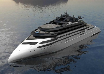 Ulstein revela el nuevo concepto de superyate CX127 Explorer