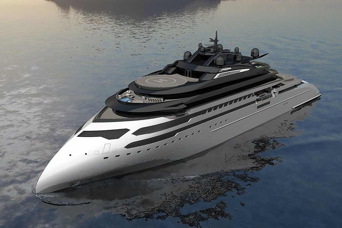 Ulstein Group revela el nuevo concepto de superyate CX127 Explorer