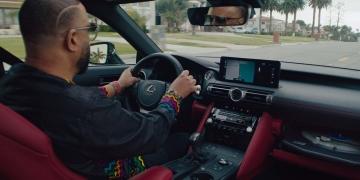 Madlib y KAYTRANADA llevan al Lexus IS Wax Edition a dar su mejor vuelta