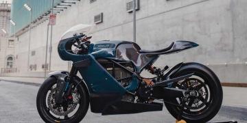 Deus Ex Machina transforma una Zero SR/S eléctrica en esta Café Racer
