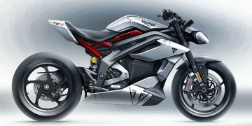 La próxima moto eléctrica de Triumph será increíblemente rápida, de hecho será un misil sobre dos ruedas