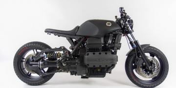Sueños concretos a la realidad: BMW K100RS de Marek Kruszynski
