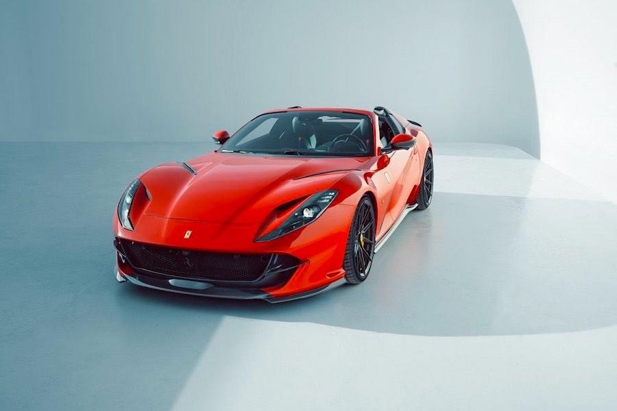 Ferrari 812 GTS mejorado por Novitec