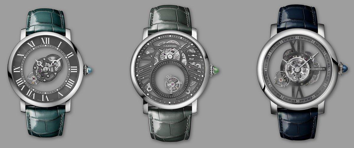 La famosa casa francesa lanza una obra maestra junto con tres Mini Mystery Clocks.