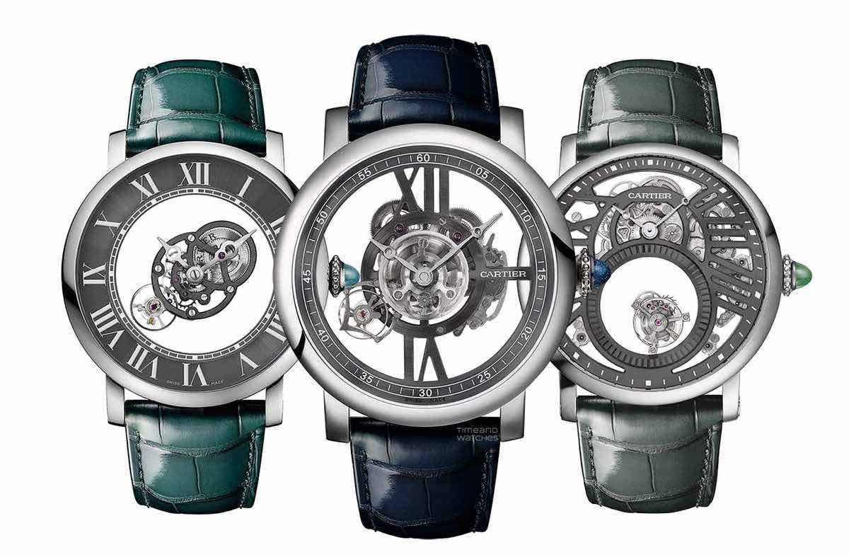 Cartier presenta los relojes Rotonde de Cartier Precious Icons Set de edición limitada