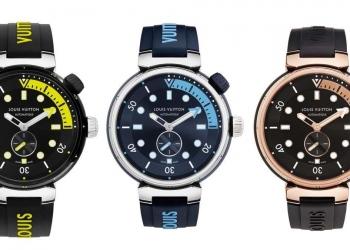 Louis Vuitton presenta la serie de relojes Tambour Street Diver