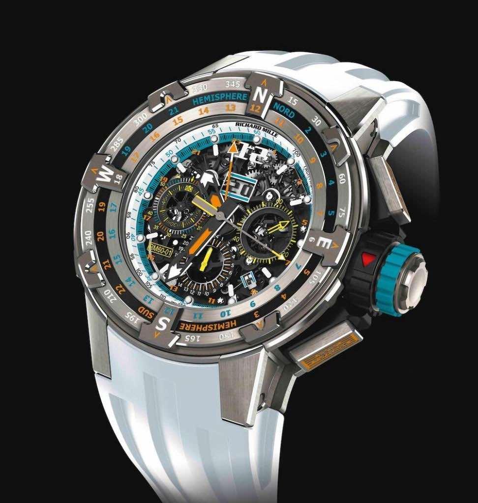Richard Mille fabricó solo 50 piezas del ultra exclusivo reloj RM60-01
