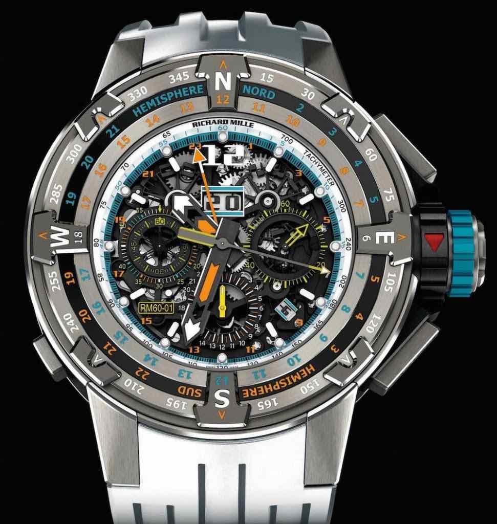Edición limitada de solo 50 relojes de lujo Richard Mille.