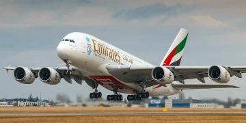 Airbus A380-800 de la aerolínea Emirates