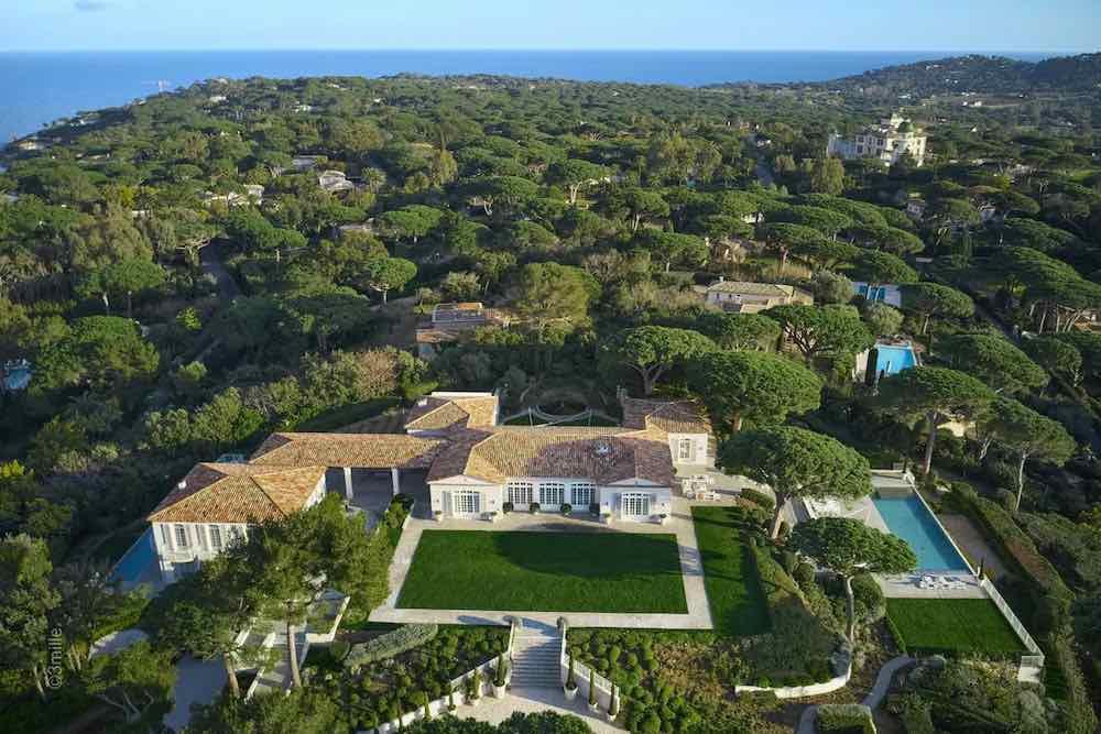 Ponen esta ultra lujosa villa en Saint-Tropez a la venta por 68 millones de euros