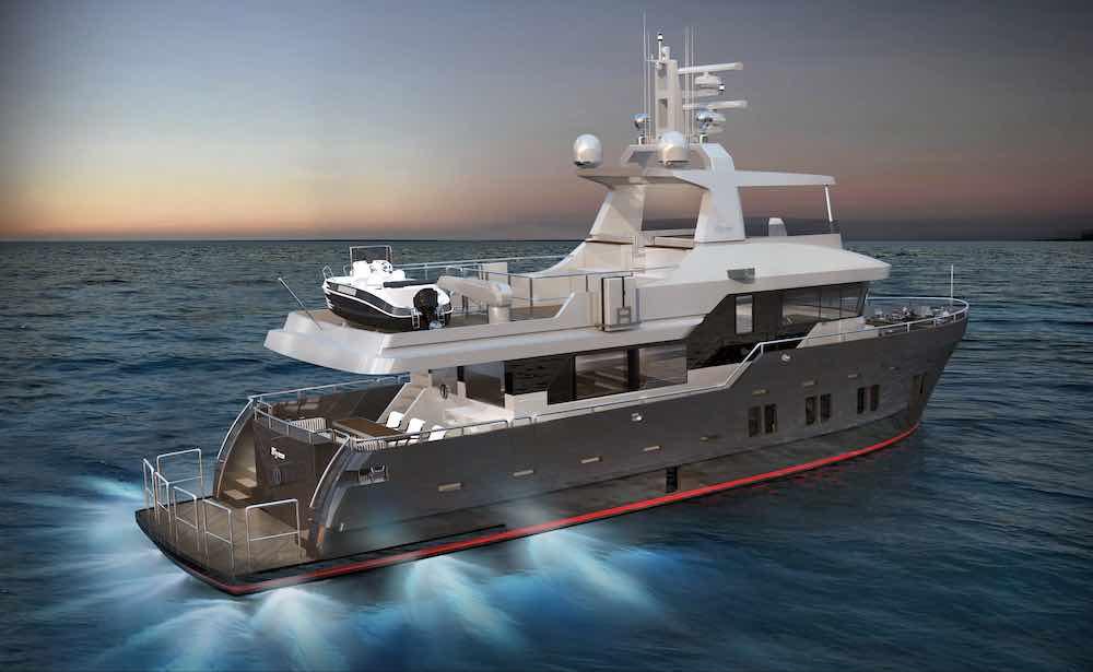 Bering Yachts presenta el nuevo yate B72 Explorer