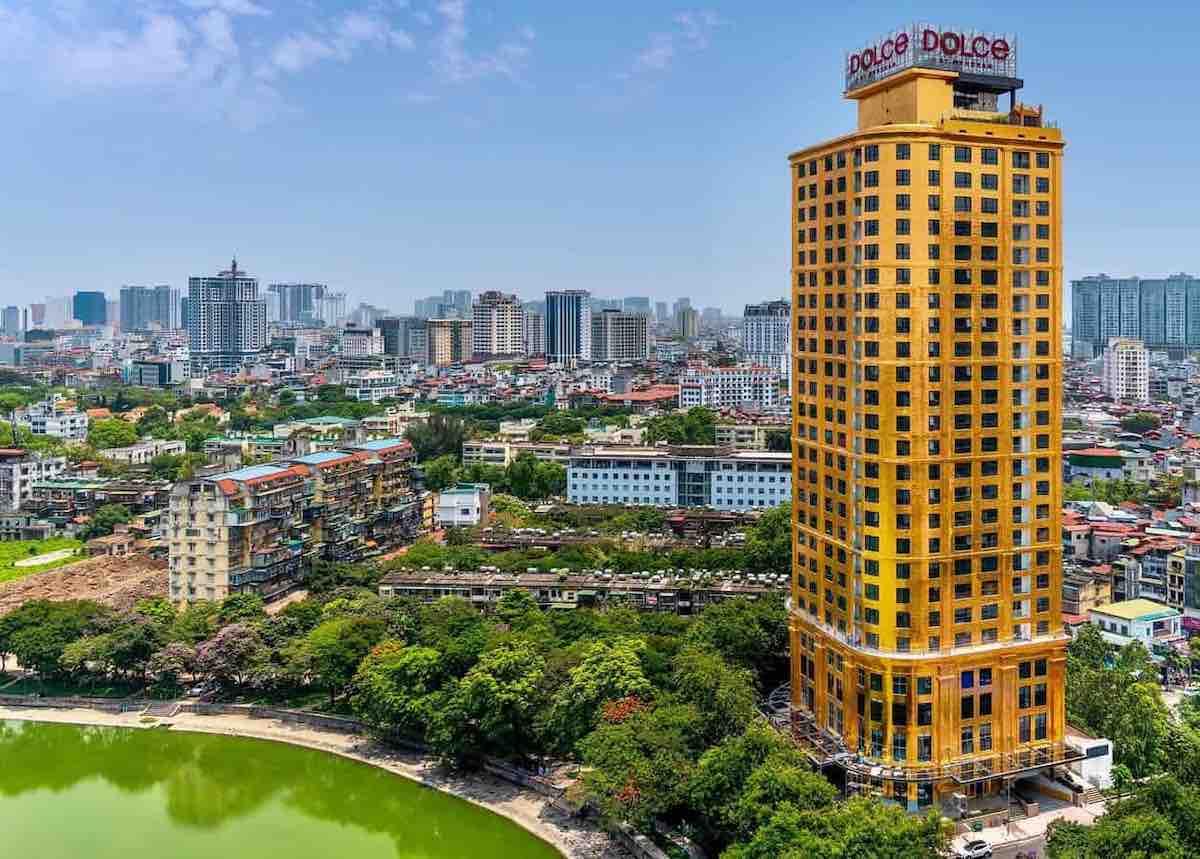 El primer hotel chapado en oro del mundo le espera en Vietnam – Dolce by Wyndham Hanoi Golden Lake