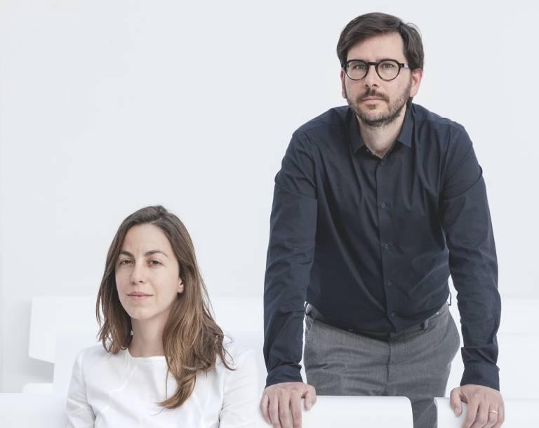 Alicia Medrano y Fernando Pedrosa, socios y fundadores de Lecoc