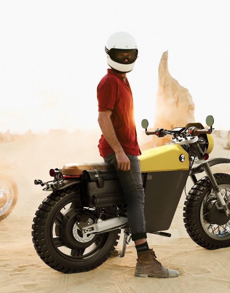 OX Motorcycles, startup española presenta nuevos modelos retro y personalizables de su moto eléctrica