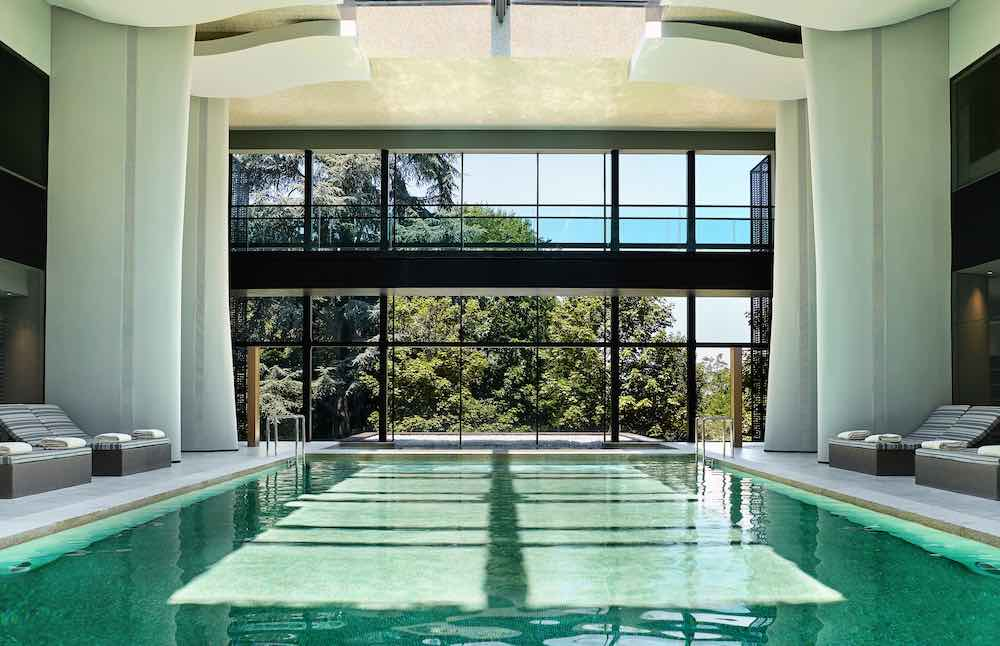 Las mejoras del spa incluyen una piscina renovada que ahora cuenta con un circuito de hidroterapia.