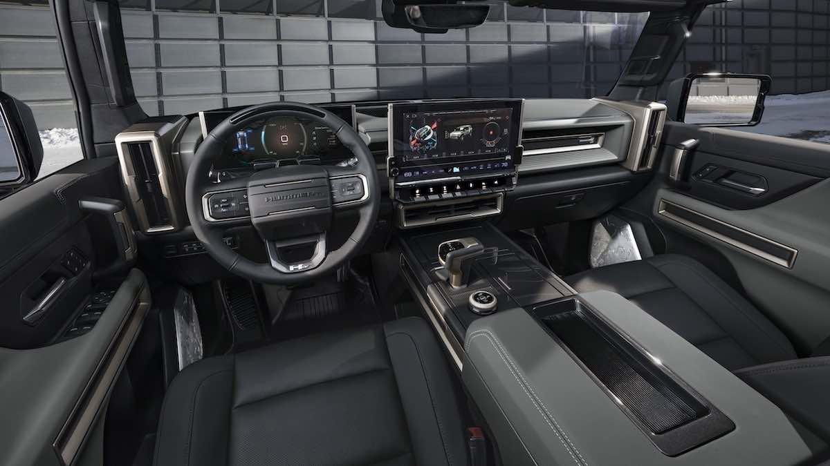 Interior del nuevo SUV eléctrico GMC