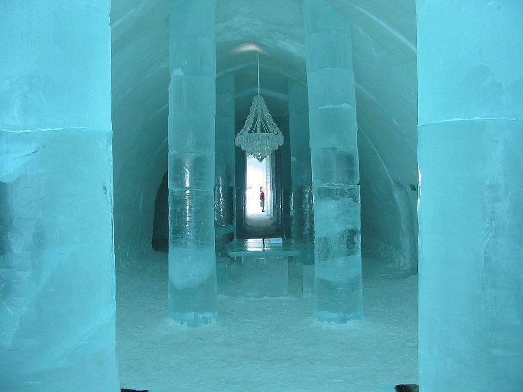 Hotel de hielo en Jukkasjärvi, Suecia