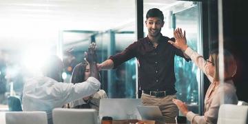Ganar es lo que pasa cuando trabajas con los mejores