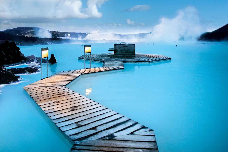 Reykjavík, Islandia – Sumergirse en las aguas tórridas de la Laguna Azul (Bláa lónið)