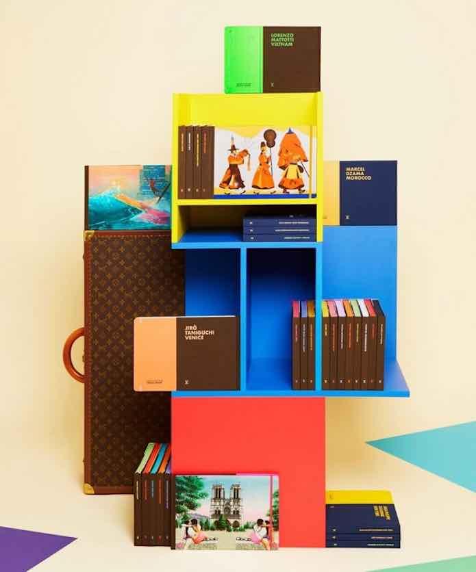 Louis Vuitton transforma su tienda de Saint-Germain-des-Prés en una librería