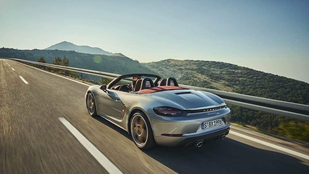 Nueva edición limitada Porsche Boxster 25º Aniversario