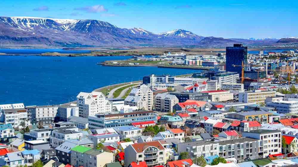Reykjavik, la capital de Islandia