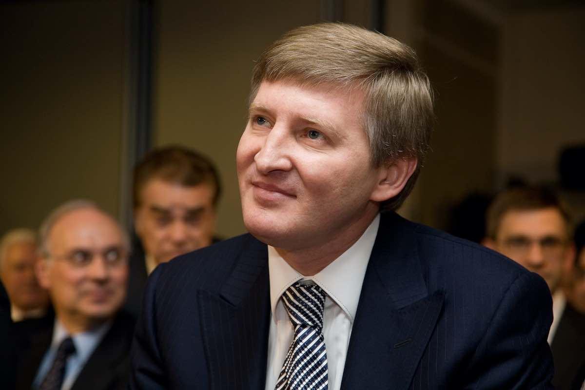 El oligarca y multimillonario ucraniano Rinat Leonidovych Akhmetov