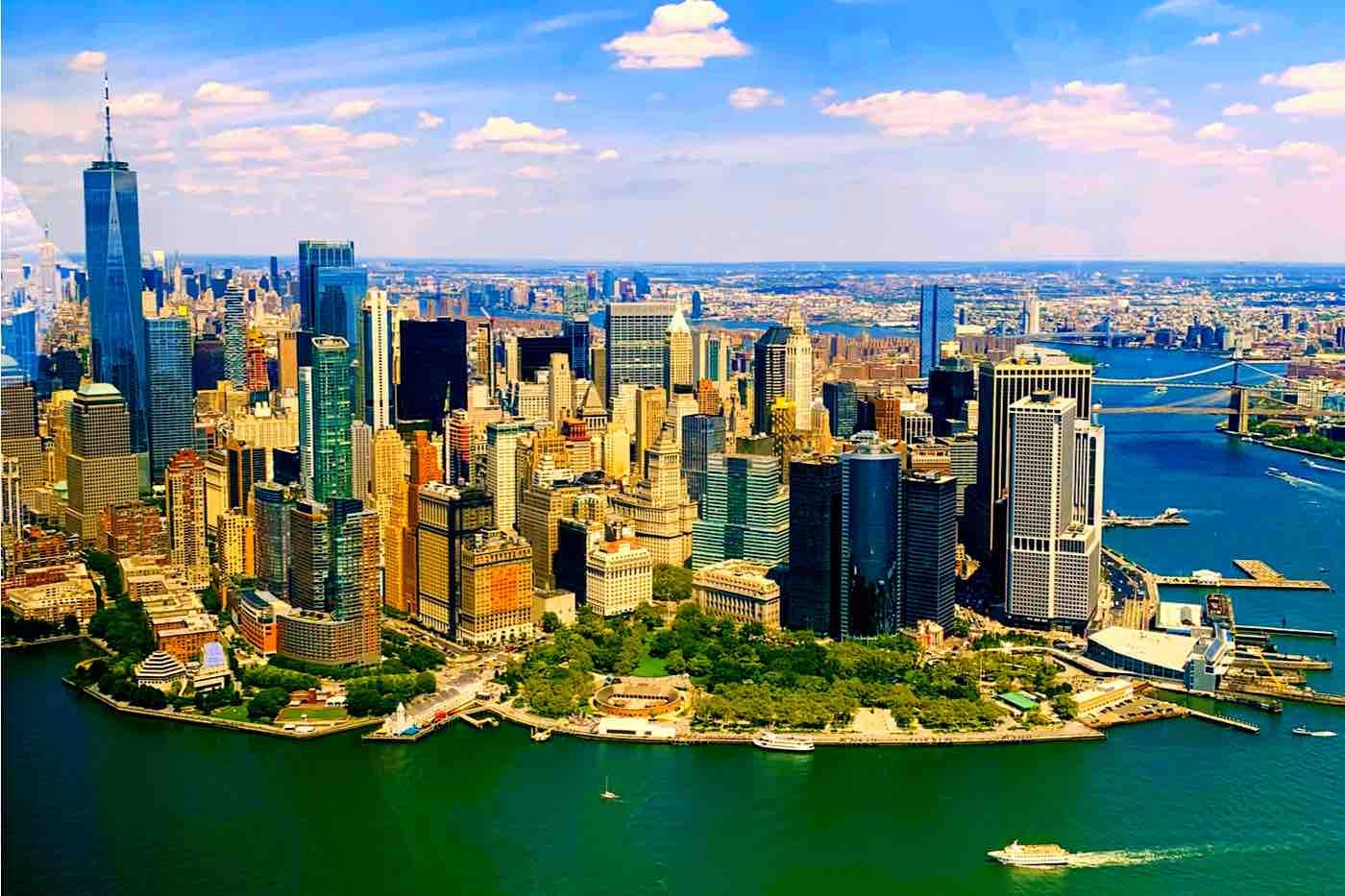 Distrito financiero de la ciudad de Nueva York