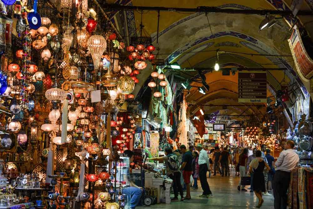 Estambul, Turquía – Piérdase en el interior del Gran Bazar