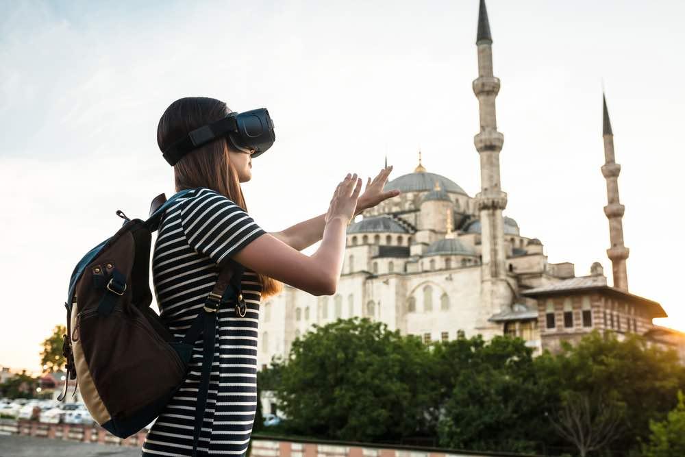 Viajar sin movernos de casa, gracias a la realidad virtual
