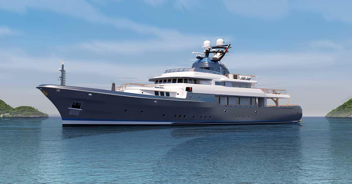 La robusta y eficaz embarcación tiene un barco auxiliar (tender) de un gran tamaño inigualable.