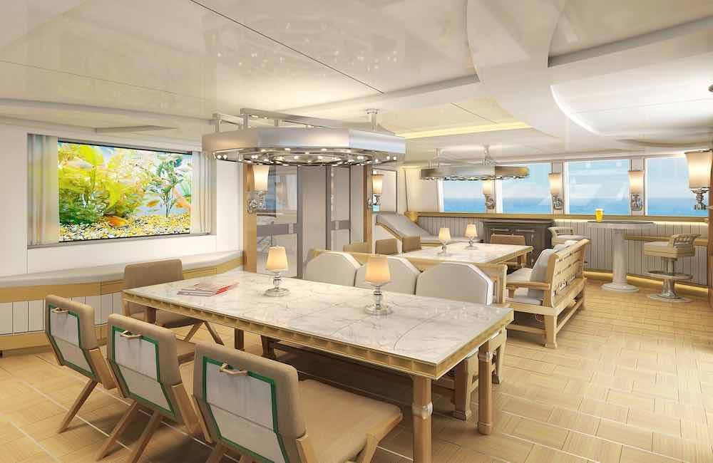 La robusta y eficaz embarcación tiene un interior de lujo inigualable.
