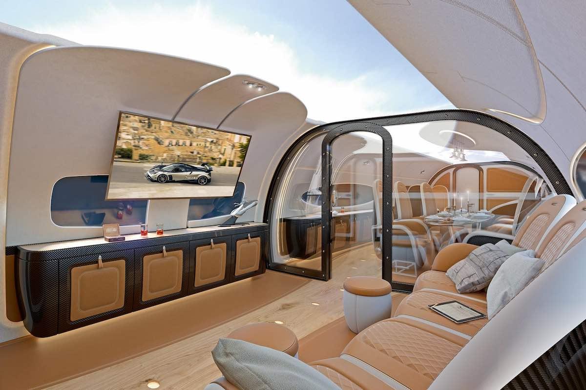 Techo infinito en el mejor jet privado del mundo, Airbus ACJ319neo