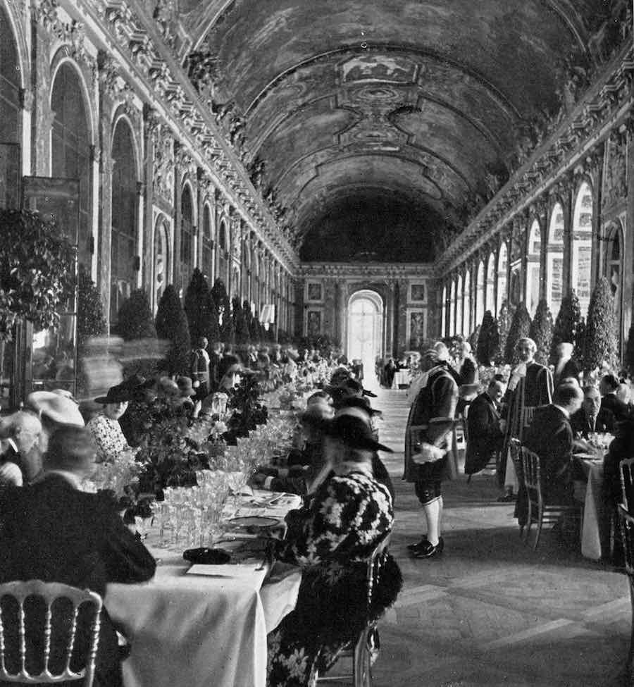 Banquet Versailles, 1938