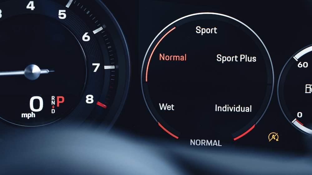 Los cinco modos de conducción del Porsche 911