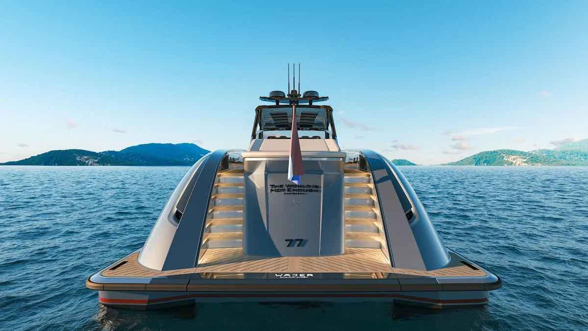 El primer yate Wajer 77 se acerca a su lanzamiento y el constructor vende 15 modelos